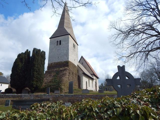 Fröjel Church, Gotland.