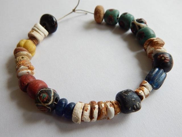 Beads from Kopparsvik Grave 189