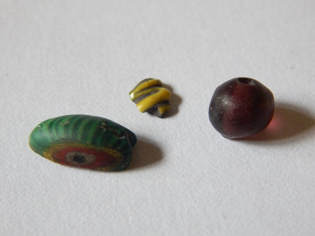 Early Viking Age beads from Kaupang.