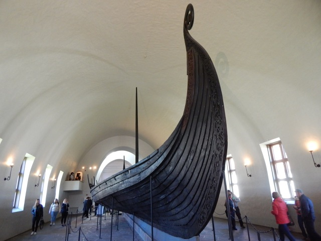 Oseberg Ship, Viking Ship Museum, Oslo.