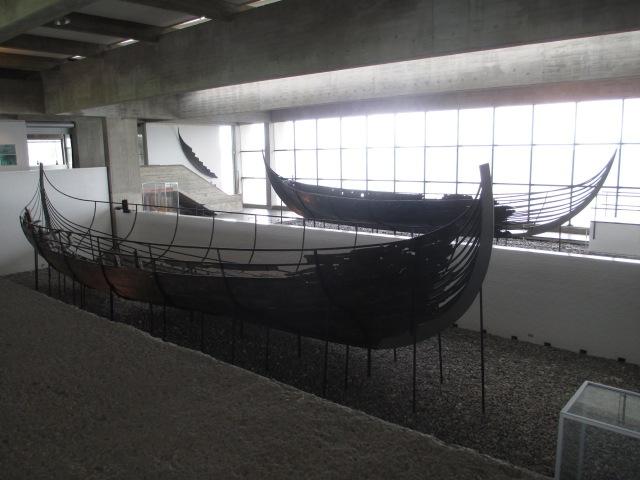Skuldelev 1 at the Viking Ship Museum in Roskilde, DK.